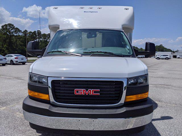 2021 GMC Savana 3500 4x2, Rockport Cargoport Cutaway Van #G10451 - photo 9