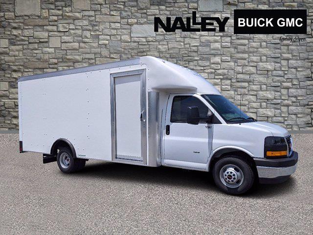2021 GMC Savana 3500 DRW 4x2, Rockport Cargoport Cutaway Van #G10527 - photo 1