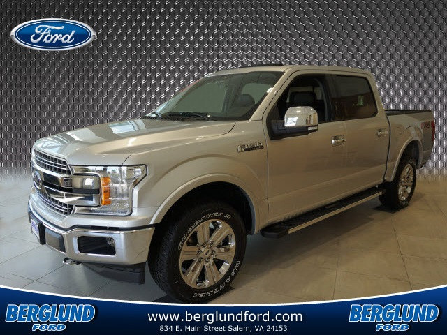 2018 F-150 Crew Cab 4x4 Pickup #SF28542 - photo 1
