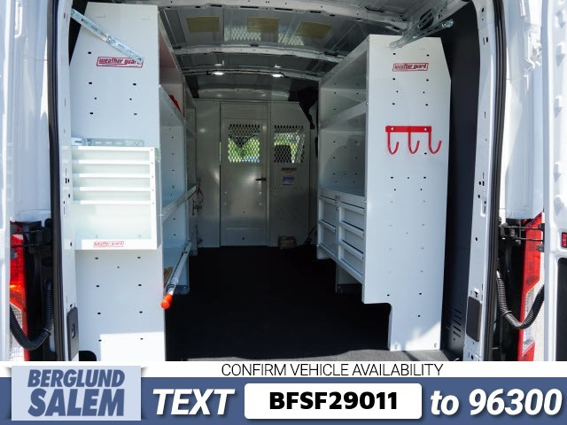 2018 Transit 250 Med Roof 4x2,  Weather Guard Upfitted Cargo Van #SF29011 - photo 13