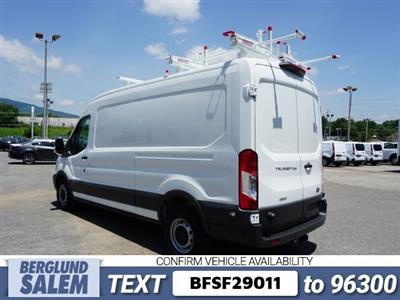 2018 Transit 250 Med Roof 4x2,  Weather Guard PHVAC Upfitted Cargo Van #SF29011 - photo 6