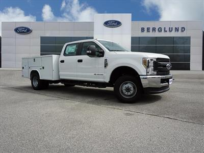 2018 F-350 Crew Cab DRW 4x4,  Reading SL Service Body #SF29203 - photo 3