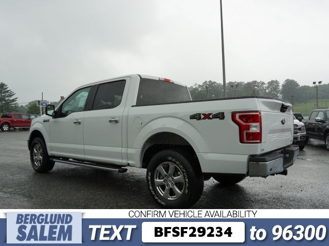 2018 F-150 SuperCrew Cab 4x4,  Pickup #SF29234 - photo 5