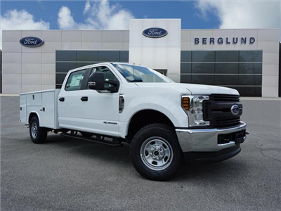 2018 F-350 Crew Cab 4x4,  Reading Classic II Steel Service Body #SF29300 - photo 1