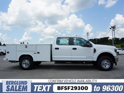 2018 F-350 Crew Cab 4x4,  Reading Classic II Steel Service Body #SF29300 - photo 3