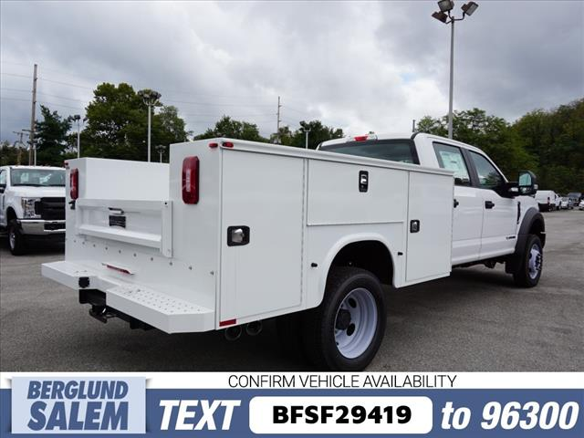 2018 F-450 Crew Cab DRW 4x4, Knapheide Service Body #SF29419 - photo 1