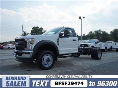 2019 F-450 Regular Cab DRW 4x4,  Cab Chassis #SF29474 - photo 7