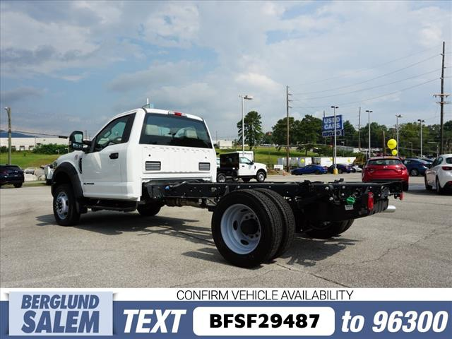 2019 F-550 Regular Cab DRW 4x4,  Cab Chassis #SF29487 - photo 5