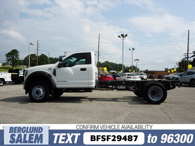 2019 F-550 Regular Cab DRW 4x4,  Cab Chassis #SF29487 - photo 6