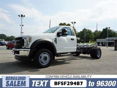 2019 F-550 Regular Cab DRW 4x4,  Cab Chassis #SF29487 - photo 7