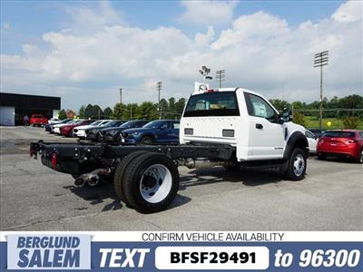 2019 F-550 Regular Cab DRW 4x4,  Cab Chassis #SF29491 - photo 2