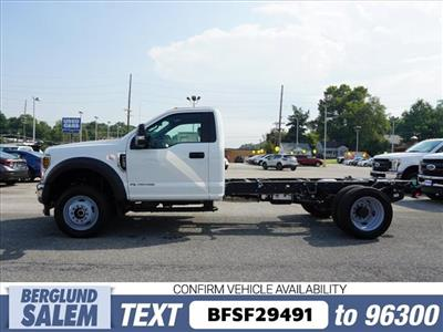 2019 F-550 Regular Cab DRW 4x4,  Cab Chassis #SF29491 - photo 6
