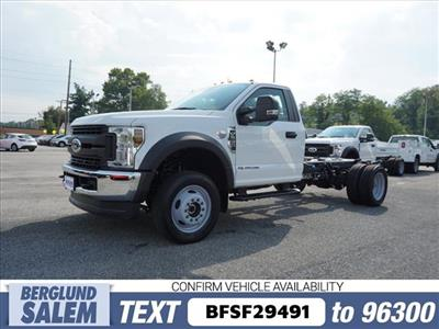 2019 F-550 Regular Cab DRW 4x4,  Cab Chassis #SF29491 - photo 7