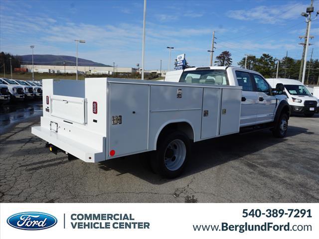 2020 Ford F-550 Crew Cab DRW 4x4, Reading Service Body #SF31052 - photo 1