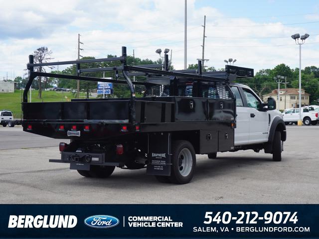 2021 Ford F-550 Crew Cab DRW 4x4, Knapheide Concrete Body #SFC32118 - photo 1