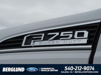 2022 F-750 Super Cab DRW 4x2,  PJ's Truck Bodies Landscape Dump #SFC32143 - photo 8
