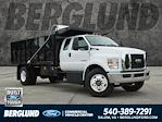 2022 F-750 Super Cab DRW 4x2,  PJ's Truck Bodies Landscape Dump #SFC32143 - photo 1