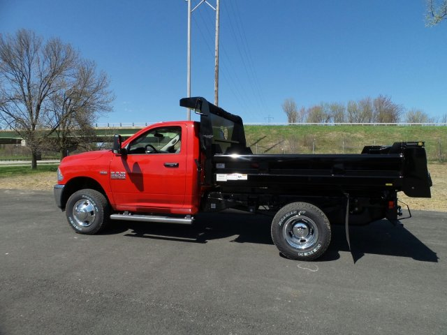 2018 Ram 3500 Regular Cab DRW 4x4,  Rugby Dump Body #1D87254 - photo 8