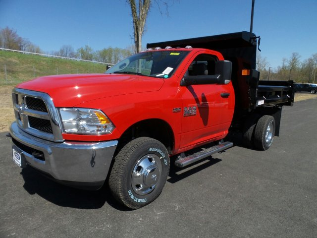 2018 Ram 3500 Regular Cab DRW 4x4,  Rugby Dump Body #1D87254 - photo 9