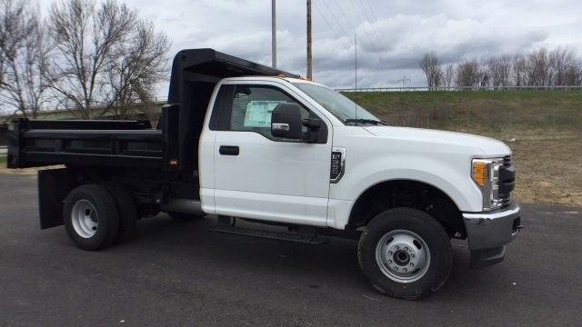 2017 F-350 Regular Cab DRW 4x4,  Rugby Eliminator LP Steel Dump Body #4174193 - photo 5