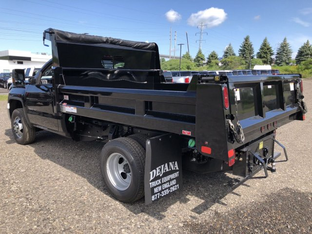 2019 Sierra 3500 Regular Cab DRW 4x4,  Rugby Dump Body #109034 - photo 2