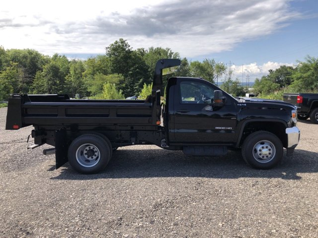 2019 Sierra 3500 Regular Cab DRW 4x4,  Rugby Dump Body #109034 - photo 6