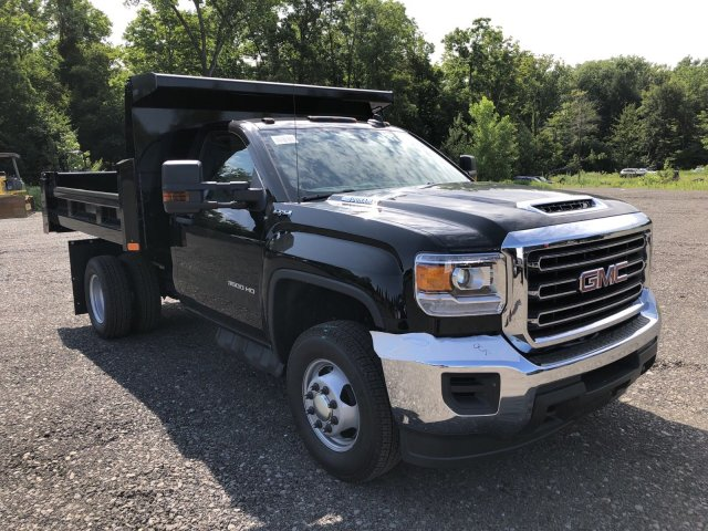 2019 Sierra 3500 Regular Cab DRW 4x4,  Rugby Dump Body #109034 - photo 7