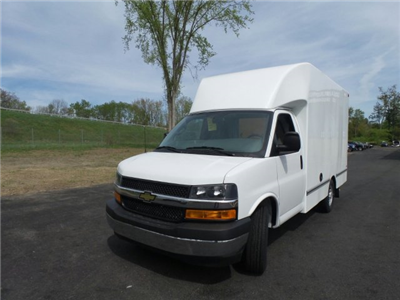 2017 Express 3500, Unicell Aerocell CW Cutaway Van #3T7927 - photo 1