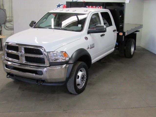 2018 Ram 5500 Crew Cab DRW 4x4,  Platform Body #42271 - photo 6