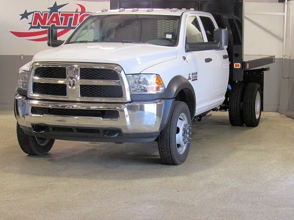 2018 Ram 5500 Crew Cab DRW 4x4,  Knapheide Platform Body #42271 - photo 3