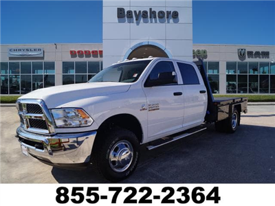 2018 Ram 3500 Crew Cab DRW 4x4,  Platform Body #D181116 - photo 1