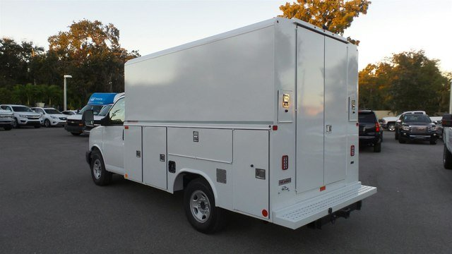 2018 Savana 3500 4x2,  Reading Service Utility Van #M5255 - photo 2