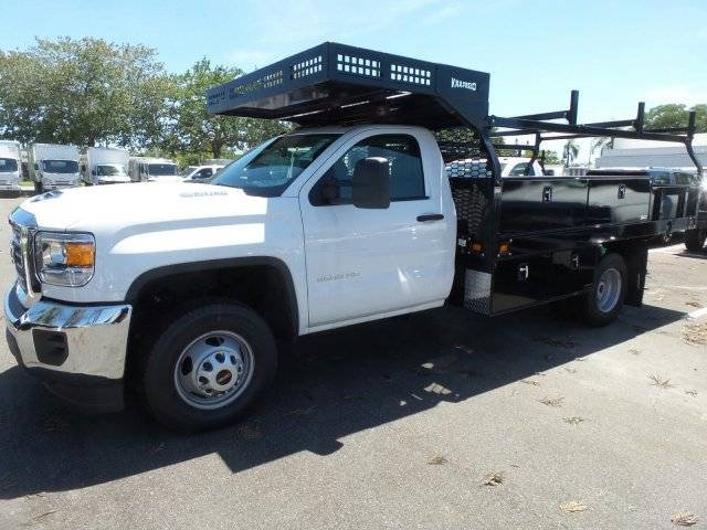 2019 Sierra 3500 Regular Cab DRW 4x2, Knapheide Concrete Body #M5528 - photo 1
