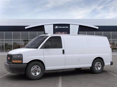 2020 GMC Savana 2500 4x2, Masterack Upfitted Cargo Van #M6479 - photo 3