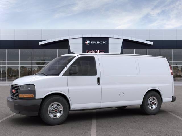 2020 GMC Savana 2500 4x2, Masterack Upfitted Cargo Van #M6484 - photo 3