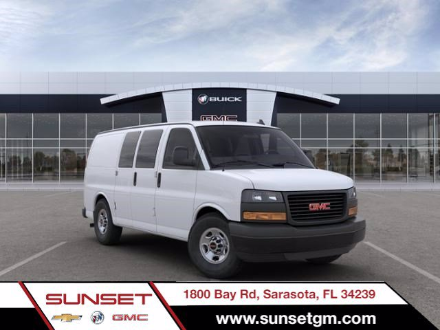 2020 GMC Savana 2500 4x2, Masterack Upfitted Cargo Van #M6489 - photo 1