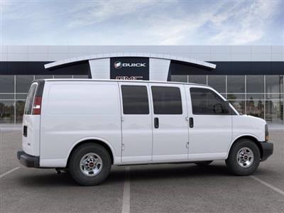 2020 GMC Savana 2500 4x2, Masterack Upfitted Cargo Van #M6526 - photo 4