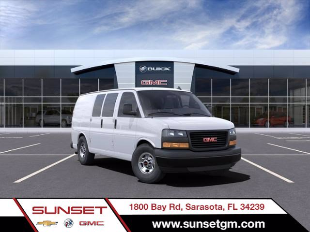 2021 GMC Savana 2500 4x2, Masterack Upfitted Cargo Van #M6607 - photo 1