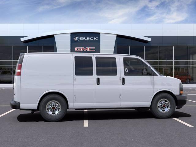 2021 GMC Savana 2500 4x2, Masterack Upfitted Cargo Van #M6607 - photo 5