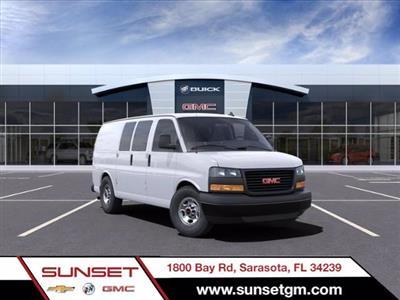 2021 GMC Savana 2500 4x2, Masterack Upfitted Cargo Van #M6607 - photo 1