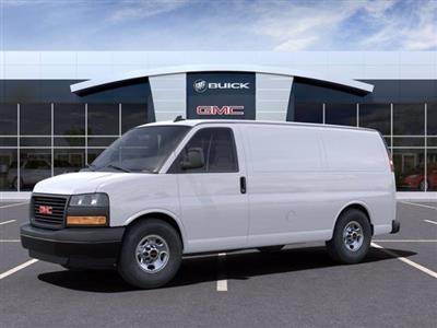 2021 GMC Savana 2500 4x2, Masterack Upfitted Cargo Van #M6607 - photo 3