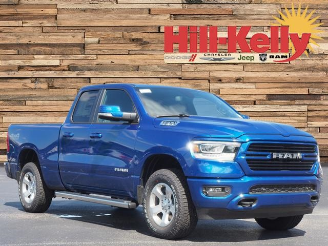 2019 Ram 1500 Quad Cab 4x4,  Pickup #79199 - photo 3
