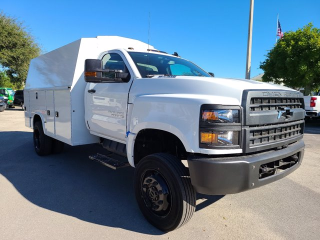 2020 Chevrolet Silverado 5500 Regular Cab DRW 4x4, Knapheide KUVcc Service Body #CL05269 - photo 3