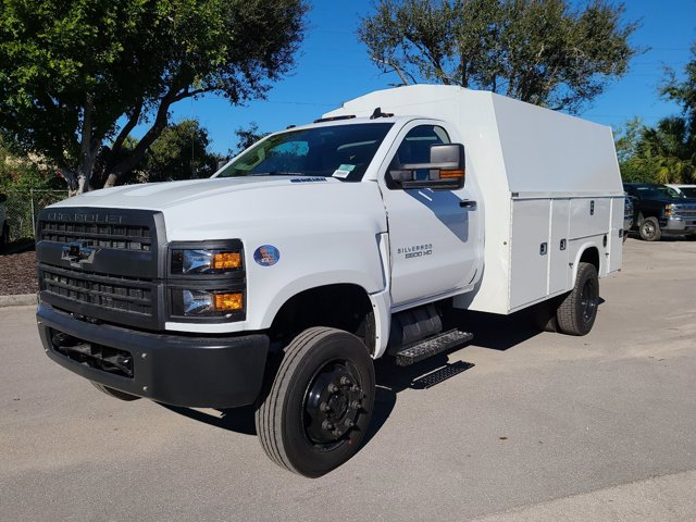 2020 Chevrolet Silverado 5500 Regular Cab DRW 4x4, Knapheide KUVcc Service Body #CL05269 - photo 4