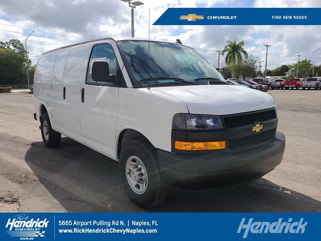 2020 Chevrolet Express 2500 4x2, Masterack Upfitted Cargo Van #CL76261 - photo 1
