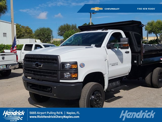 2020 Chevrolet Silverado 5500 Regular Cab DRW 4x4, Knapheide Dump Body #CL92378 - photo 1