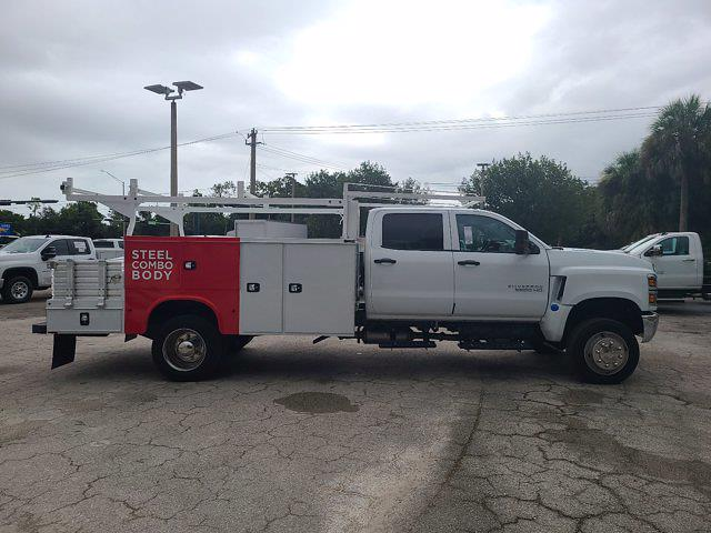 2021 Silverado 5500 Crew Cab DRW 4x4,  Knapheide Combo Body #CM11891 - photo 8
