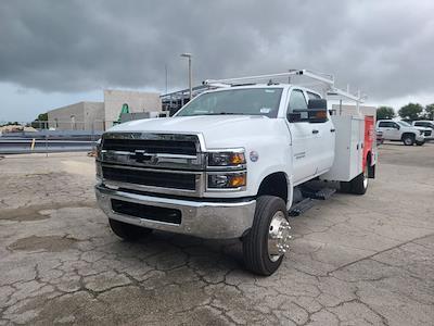 2021 Silverado 5500 Crew Cab DRW 4x4,  Knapheide Combo Body #CM11891 - photo 4