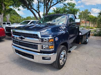 2021 Chevrolet Silverado 5500 Regular Cab DRW 4x2, CM Truck Beds SK Model Platform Body #CM19934 - photo 4