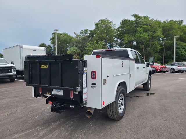 2021 Chevrolet Silverado 3500 Crew Cab 4x4, Reading Service Body #CM27432 - photo 1